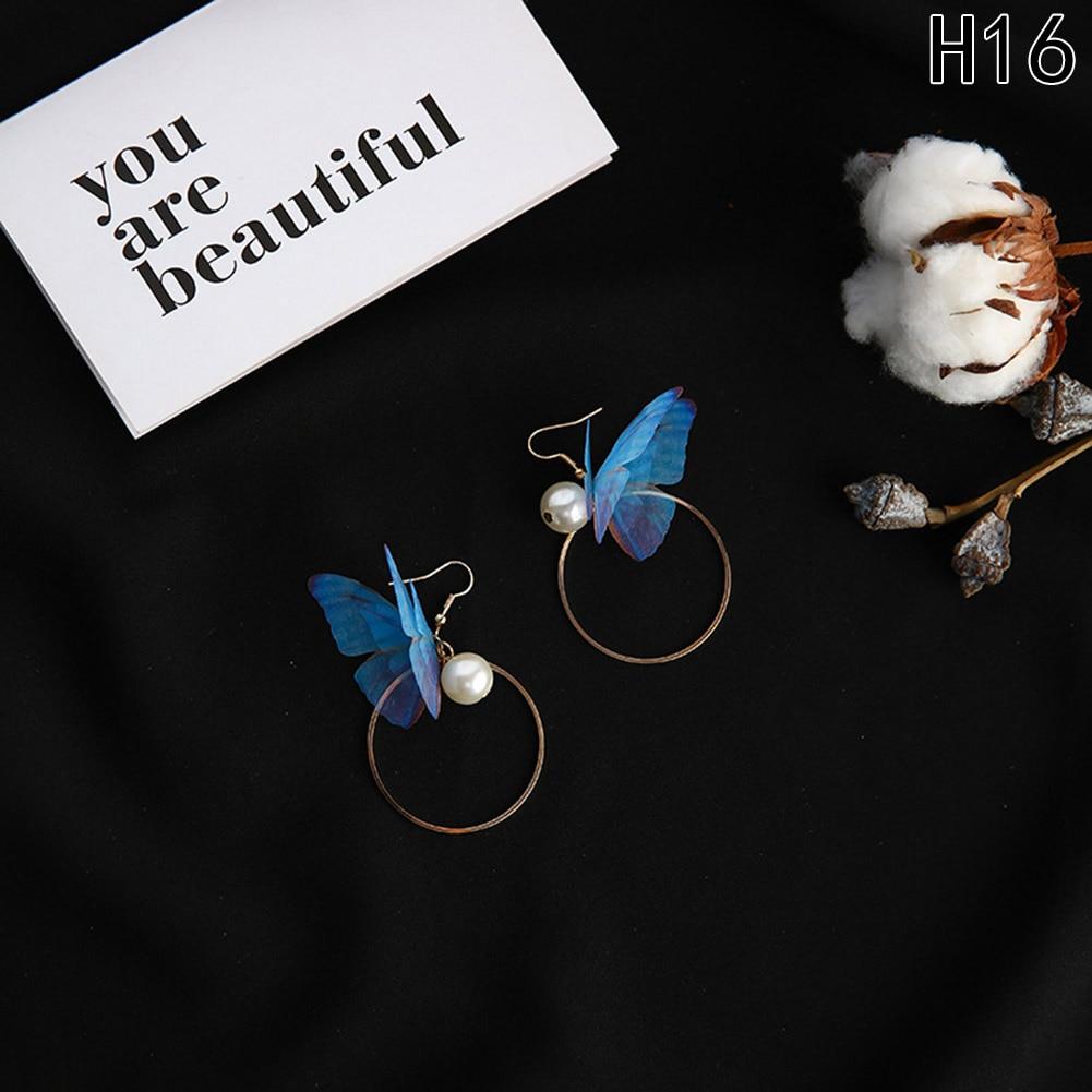 21 Designs Butterfly Wings Long Earrings*