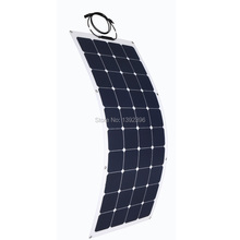 2016 100W Solar Module Refrigerator High Efficiency PV Thin Film Solar Panel Solar Power System
