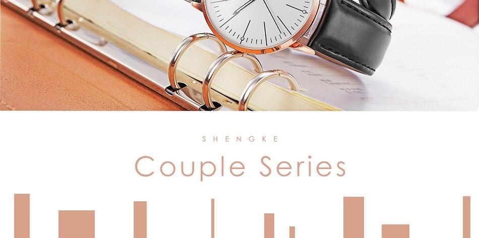 زوجين من ساعات الرجال و النساء عالية الجودة 25