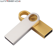 Metal Waterproof USB Flash Drive 64gb Super Mini Pen Drive 32gb 16gb 8gb 4gb USB 2.0 Pendrive Flash Drive Logo Customize(China)