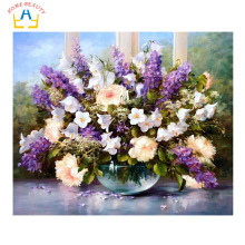 HOME BEAUTY diy digital oil painting by numbers wall home decoration paint unique gift craft picture handwork flowers G053