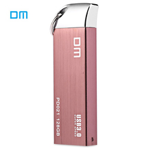 DM PD021 USB Pen Drive 128GB 64GB 32GB 16GB USB 3.0 Flash Drive High Speed Storage Memory Stick Rose Gold for Computer PC Tablet(China)