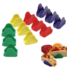 12pcs Mexican Pizza Clip Plastic Waveform Stand Home Party Usage Tools Kitchen Cooking Tools Practical Kitchen Tool(China)