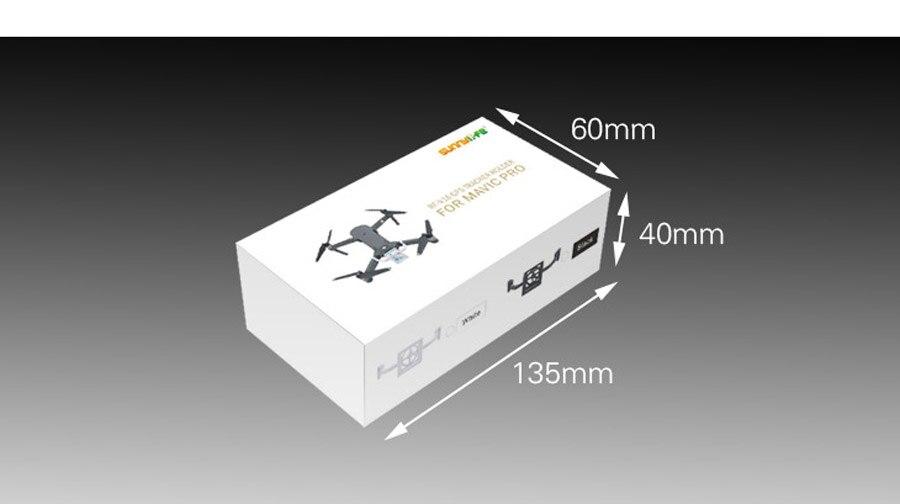 RF-V16 GPS Tracker Bracket Tracer Holder Drone Locator Support for DJI MAVIC PRO