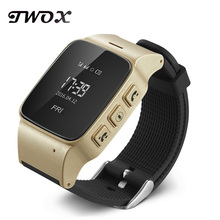 D99 Elderly Tracker Android Smart Watch Google Map SOS Wristwatch Personal GSM GPS LBS Wifi Safety Anti-Lost Locator Watch