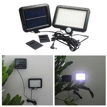 Solar Light 56 LED Body Motion Sensor Wall Light Garden Parks Security Street Solar Lamp Waterproof Plant Breeding Light