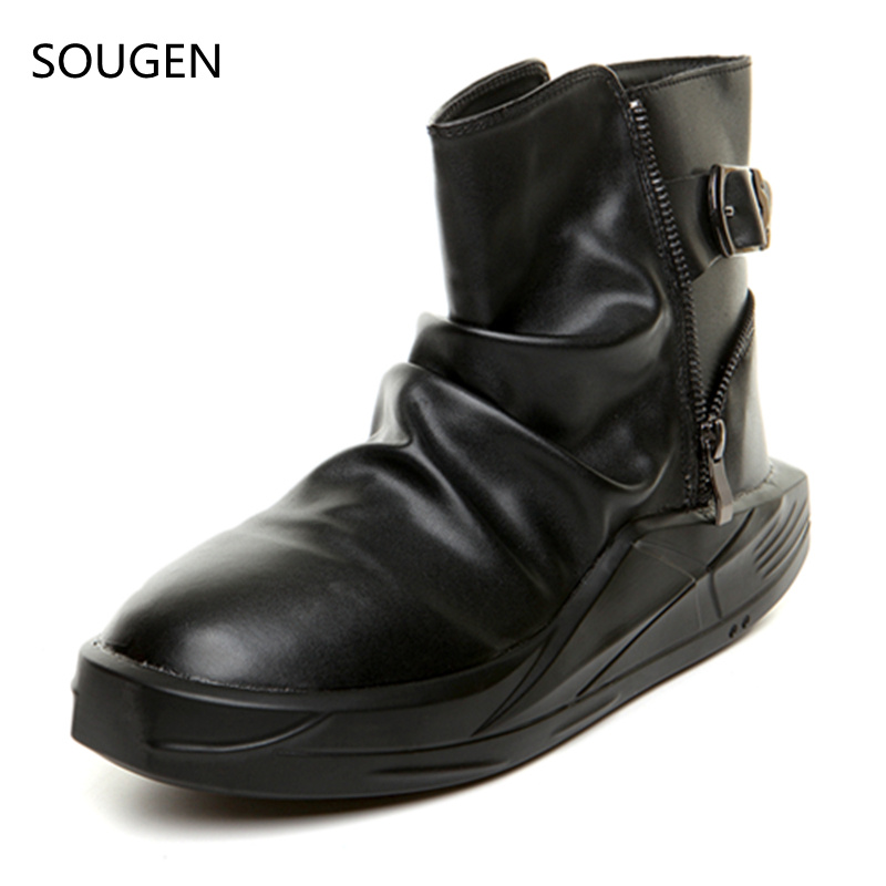 2017 Boots Men Hunting Genuine Leather Vintage Tactical Waterproof Black Timbers Casual Suede Winter Males Timber Chelsea<br><br>Aliexpress