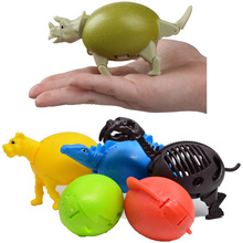 BOHS Transform Deformation Dinosaur Animal Egg Puzzle Assembling Children Toys Model(China)
