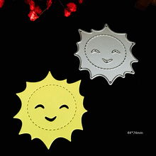 Metal CUTTING DIES Smile Sunflower Craft Dies DIY Scrapbooking New 2017 card stencils stamps Embossing Folder cutter Party Decor