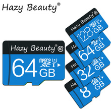 Blue micro sd card 32GB 8GB 16GB 64GB 128GB C10 flash memory card 4GB TF card for Phone/Tablet/Camera(China)