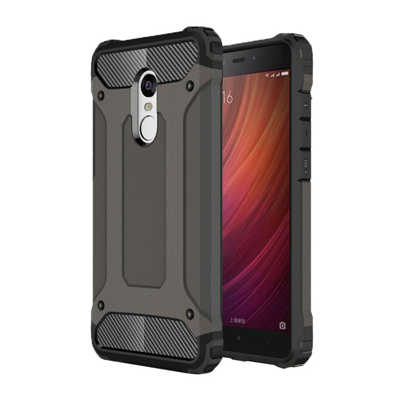 For Xiaomi Redmi Note 4X Case Luxury Armor Anti-Shock silicon Cover Case For Redmi Note 4X 4 X Cover Redmi Note4X phone case(China)