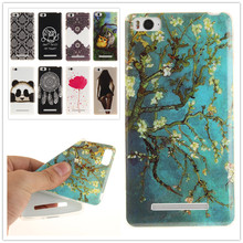 For Xiaomi Mi4i Mi4C Painting Soft TPU IMD Silicone Phone Cover For Xiaomi Mi4i Mi4C Back Skin Cover Cell Phone Case