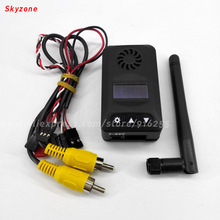 BOSCAM rc 5.8ghz fpv video transmitter 2000mw 32CH OLED mini long range wireless audio model quadcopter TX for robot car drone(China)