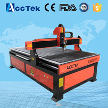 cheap advertising cnc router plastic acrylic plywood mdf engraving machine with cnc AKG1224(China)