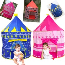 Foldable Tent cute and portable fun place Pop-Up Princess Castle Play-Tent Play-House Indoor Outdoor Garden For Kid Baby
