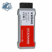 Hot Sale USB Version VXDIAG VCX NANO for Ford/Mazda 2 in 1 with IDS V100 Better Than VCM II FOR FORD Free shipping