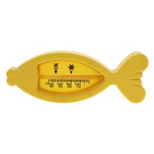 New Promotion Floating Fish Lovely Plastic Float Toy Baby Bath Tub Water Sensor Thermometer(China)