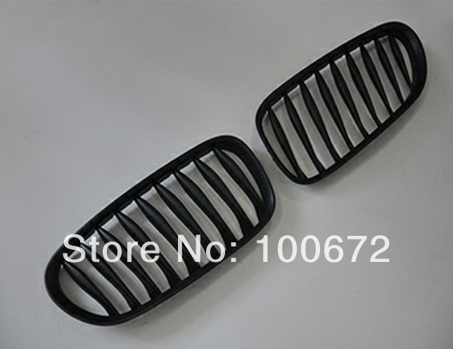 High quality ABS matt black kidney grill, mesh grille for BMW E85 Z4(Fits for BMW E85 Z4)<br><br>Aliexpress