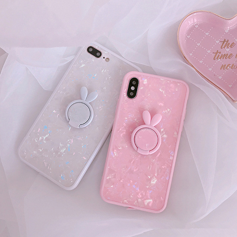 Heyytle Kickstand Phone Stand Holder Cover For Apple iPhone X 8 7 6S 6 Plus Case Shell Cute Fantasy Soft TPU Back Cover Cases 3