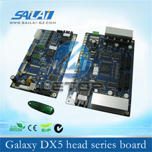 New type!! Double heads of dx5 printhead board for galaxy dx5 eco solvent printer