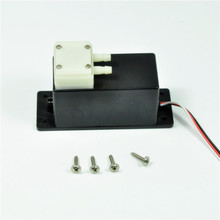 Mini Electric Pro Smoke Pump System Gasoline Smoking Pump For RC Model Airplanes(China)