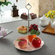 Tier Stainless Steel Cupcake Fruit Stand Candy Cakes Desserts stand holder for Wedding Party