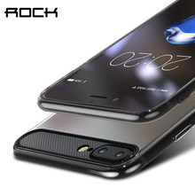 ROCK Ace TPU Case for iPhone 7 7 plus, Slim Crystal clear case for iPhone 7/7 plus cover(China)