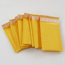 (110*150mm) 10pcs/lots Bubble Mailers Padded Envelopes Packaging Shipping Bags Kraft Bubble Mailing Envelope Bags