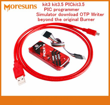 Fast Free Ship  kit3 kit3.5 PICkit3.5 PIC programmer simulator download OTP Writer beyond the original Burner