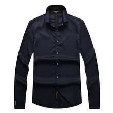 Billionaire shirt men's 2017 spring launching commerce comfort casual high quality solid color gentleman free shipping