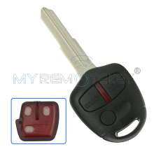 Outlander Lancer 3 Button remote key MIT11 434mhz with 46LCK chip for Mitsubishi key remtekey(China)
