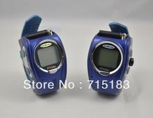 Kids Wrist Watch Walkie Talkie I-009 With Adjustable Band USA:22 Channel,Europe:8 Cahnnels Free Talker 2Pc/Pair mini wrist radio(China)
