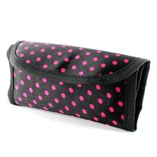 Crochet Hook Storage Bag Pouch Polka Dot Print Cover Case Weaving Tool Practical Hot Free Shipping(China)