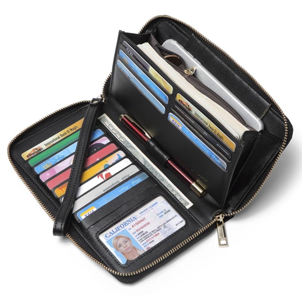 Fashion Ladies Bow Design Bifold Long Coin Purse Womens Wallet Card Holder New U