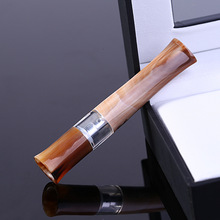 Boutique horn mouthpiece cycle can clean cigarette holder Limited edition collector(China)