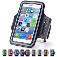 "Sports Arm Band Case Gym Running Cover Waterproof Arm Tie Outdoor Phone Bag For Iphone 5 6 6s 7 Plus All 4.7"" 5.5"" SmartPhone"