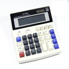 Tinhofire BIG New Office calculator Large computer keys DS-200ML computer Solar Calculator(China)