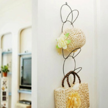 Beauty  Creative Serial Metal Coat And Hat Hangers Door Wall Bag Hook Multifunctional Silk Scarf Storage Holders Free Shipping