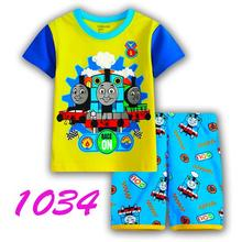 Hot Children Baby Boy's Girl's Kids Shorts Sleeve Pajamas Suit Sleepwear Homewear Pyjamas