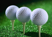 Hot Sale 2016 Two Layer Plain White Range Golf Ball(China)