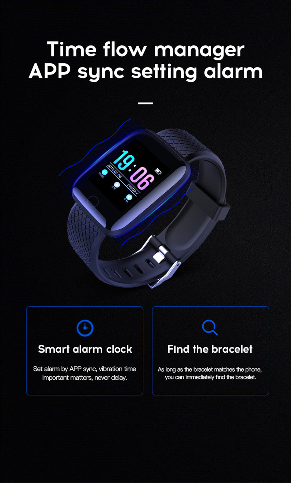 18-130435- Sport Smartwatch Women Heart Rate Monitor Smart Watch Men Blood Pressure Waterproof Fitness Tracker Watch For Android ios 2019