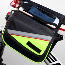Buy Outdoor Mountain Road Bike Bag Bicycle Front Tube Bag Cycling Pouch Pannier Bike Bags Bicycle Accessories free for $7.97 in AliExpress store