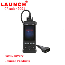 Original Launch DIY Code Reader CReader 7001 Full OBD2 Scanner/Scan Tool with Oil Reset Service diagnosis ENG/AT/ABS/SRS CR7001