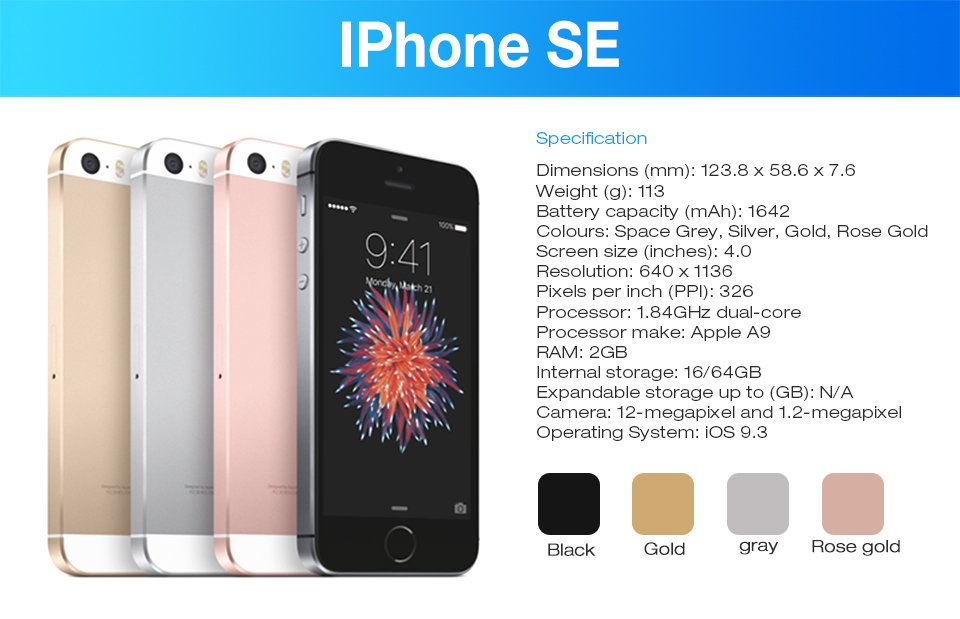Apple iPhone SE 4G LTE