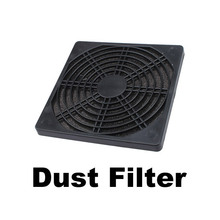 120mm Fan Dust Filter Dustproof Screen PC Computer Case Mesh PC Case Fan Dust Sponge Filter Black(China)