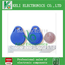 FS 10PCS/Lot  13.56MHz M1 S50 Smart IC Key Fobs / IC Tag / NFC Tag 1K Memory Re-writable Waterproof RC522 RFID