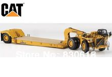 1:50 DieCast Model Caterpillar Cat 784C Tractor w/Towhaul Lowboy Trailer Norscot Construction vehicles 55220