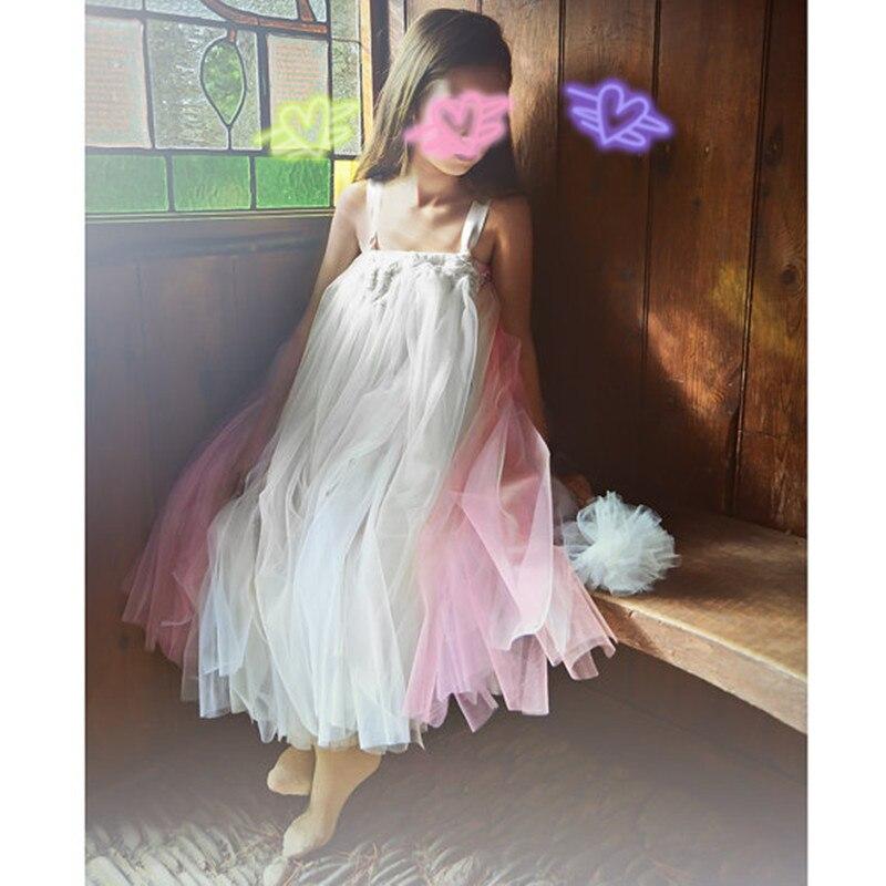 Super soft skin contact Flower Tutu Dress Dance Dress Girl wedding Dress Princess Dress girl Party costume Dress Birthday Dress <br>