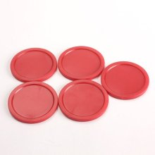Wholesale 10* 5Pcs 2 inch Mini Air Hockey Table Pucks 50mm Puck Children Table New(China)