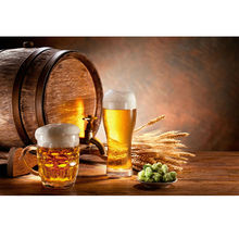 Diamond Embroidery Beer Barrel Needlework 5D Diy Diamond Painting Cross Stitch Full Drill Harvest Dinner Home Decoration Picture